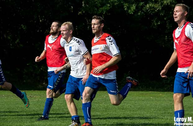 Turneringskamp mod HTS - Resultat: 3-0