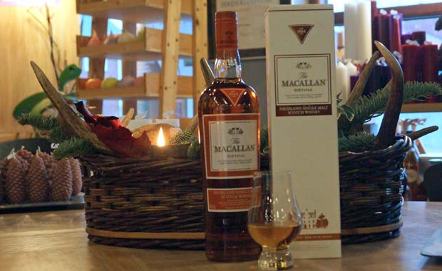 "Månedens whisky ""The Macallan Sienna"" i Smagsgalleriet"