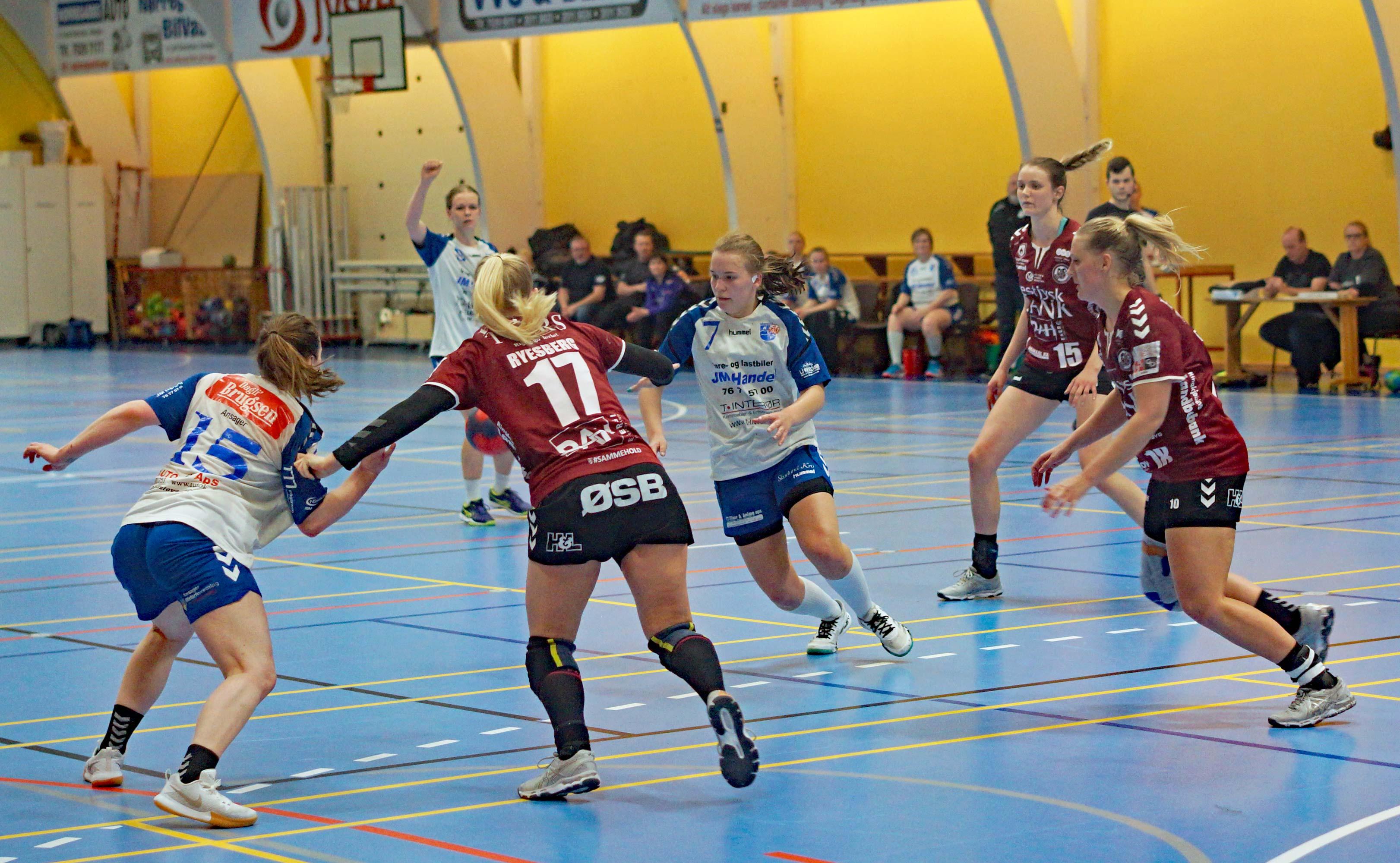 ad3ca4ffb8a Håndbold: Kamp mod norsk 2. divisionshold